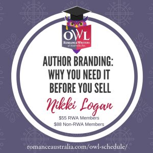 May OWL - Author Branding: Why you need it before you sell with Nikki Logan