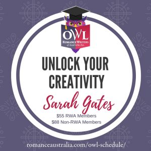 May OWL - Unlock your creativity with Sarah Gates