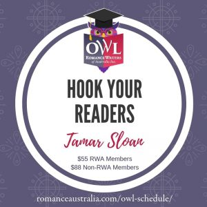 July OWL - Hook Your Readers with Tamar Sloan