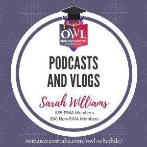 Learn now to do Podcasts and Vlogs with Sarah Williams