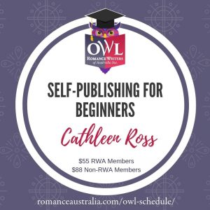 SEPTEMBER OWL - Self-Publishing for Beginners with Cathleen Ross
