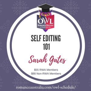 DECEMBER OWL - Self-Editing 101 with Sarah Gates