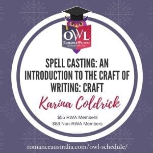 MARCH OWL - Spell Casting: An introduction to the craft of writing with Karina Coldrick