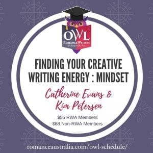 MAY OWL - Finding your Creative Writing Energy with Catherine Evans and Kim Petersen