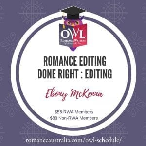 MAY OWL - Romance Editing Done Right with Ebony McKenna