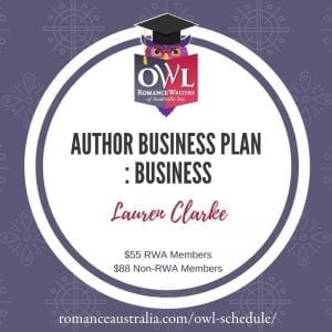 JUNE OWL - Author Business Plan with Lauren Clarke