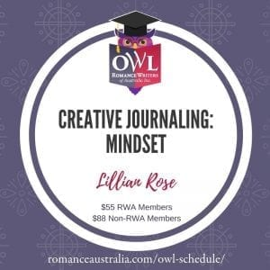 NOVEMBER OWL - CREATUVE JOURNALING: MINDSET with Lillian Rose