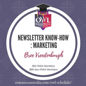 NOVEMBER OWL - NEWSLETTER KNOW-HOW: MARKETING with Bree Vreedenburgh