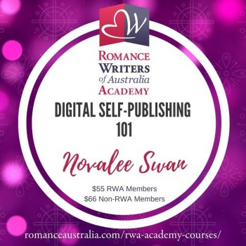 FEBRUARY SHORT COURSE - Digital Self-Publishing 101 with Novalee Swan