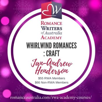 JUNE SHORT COURSE - Whirlwind Romances with Jan-Andrew Henderson