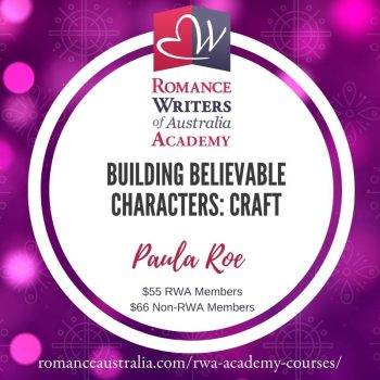 NOVEMBER SHORT COURSE - Building Believable Characters with Paula Roe