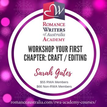 NOVEMBER SHORT COURSE - Workshop Your First Chapter with Sarah Gates